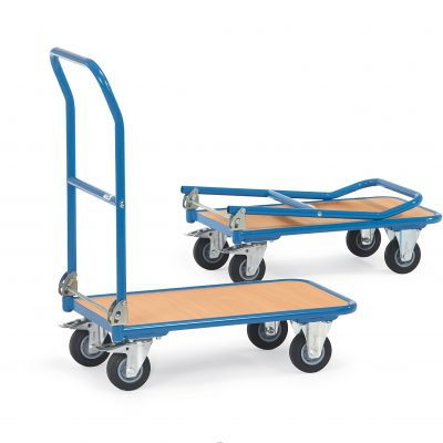 Steel folding trolley - 720L x 450Wmm