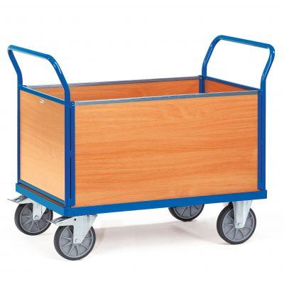 4 Sided Box Cart 400kg 850 x 500