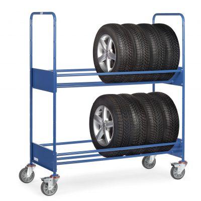 Heavy Duty Shelf And Tyre Trolleys