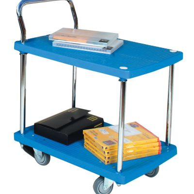200kg Plastic Trolley With Single Fixed Handle