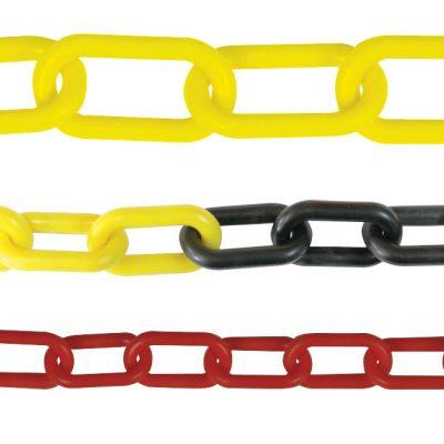 10mm Plastic Chain- Black