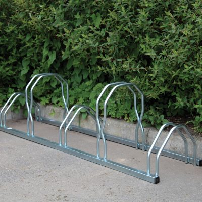 Universal Floor/Wall Cycle Rack, 5-cycle