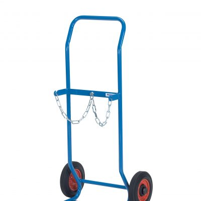 Gas Cylinder Trolley 2 x 10ltr rubber tyres