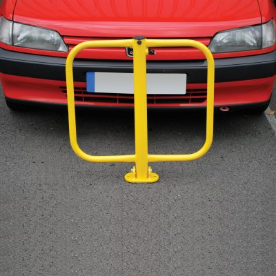 Folding parking Barrier, inc keys (With Fixing Bolts)