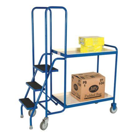2-shelf-steel-order-picking-trolley-1