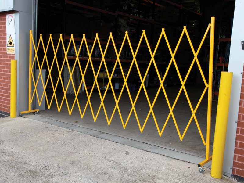 Large Expandable Safety Barrier Health And Safety Shop
